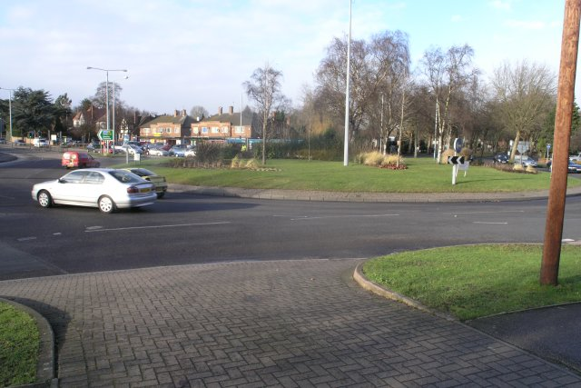 The Priory roundabout, Nottingham.