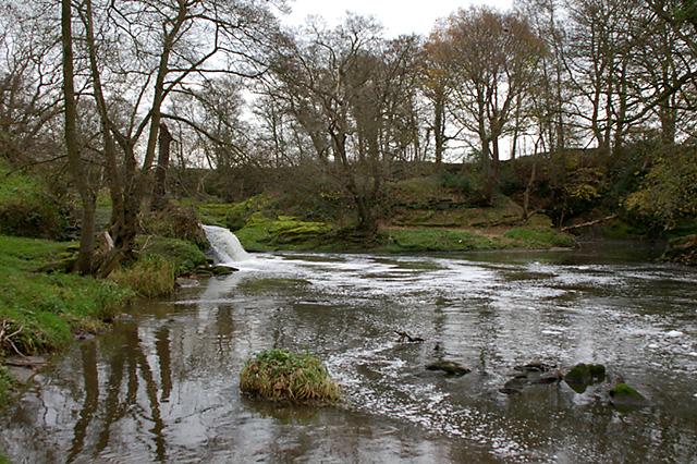 Waterfall on River Darwen