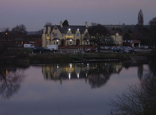 River Trent at Gunthorpe