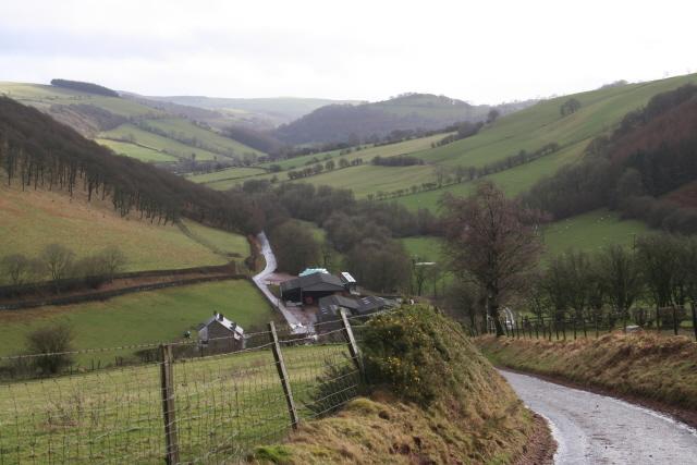 The Upper Ysgir Fechan Valley