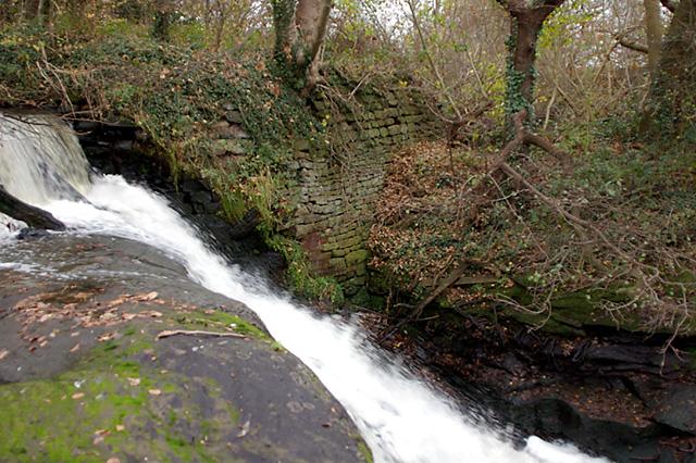 Old Weir on River Darwen