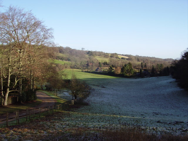 Seale valley on a cold and frosty morning