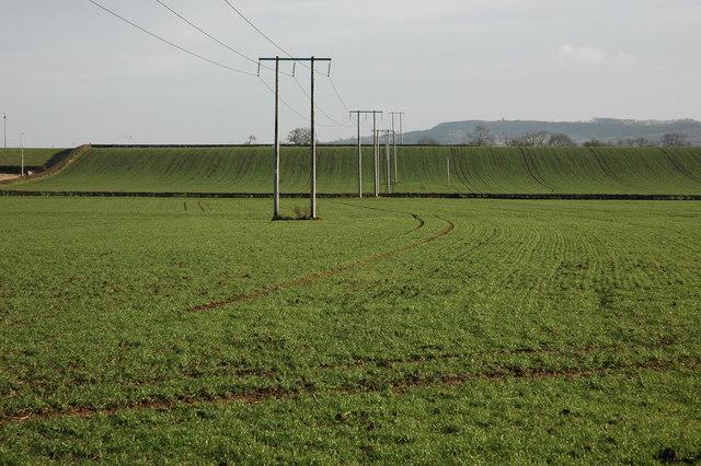 Farmland at Hill Croome