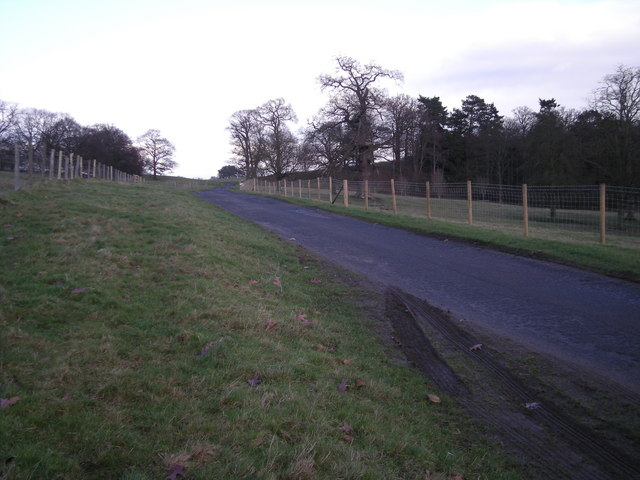 Driveway in Apley Park.