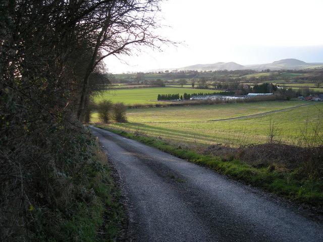 Lane to Lushcott.