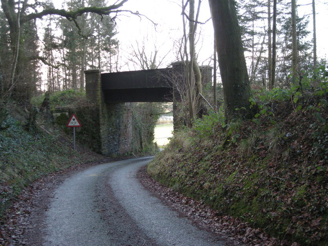 Railway bridge on disused line.