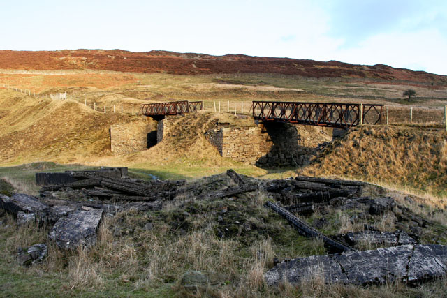 Bridges in Ashes quarry