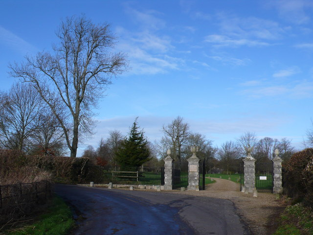 Driveway of Bingham's Melcombe