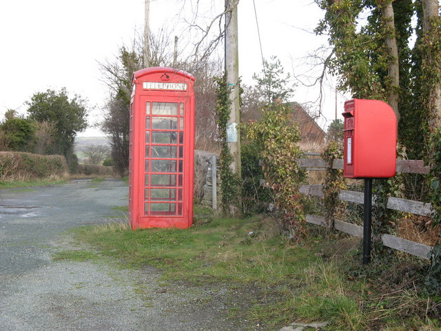 Postbox and Phonebox.