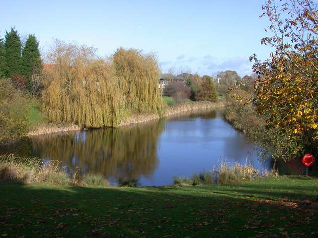 Lake on Cambridge Science Park