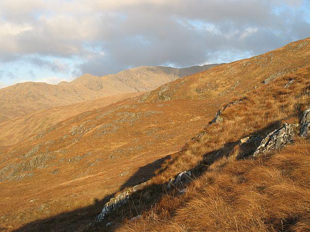 Southwest slopes of Buidhe Bheinn