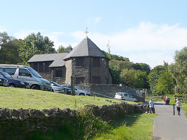 Visitor centre, Parc Cwm Darran
