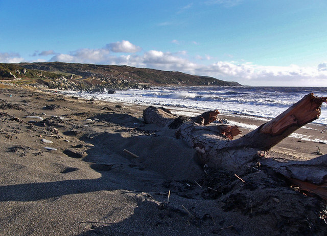 The beach at Craignarget