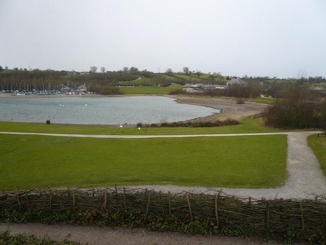 Carsington - Stones Island view towards Visitor Centre