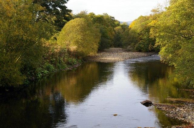 River South Esk at Justinhaugh, near Forfar