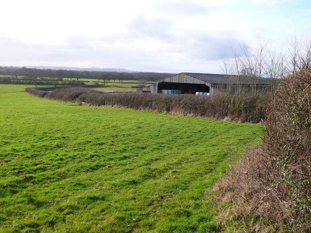 Barn on Haydon Lane near Fifehead Neville