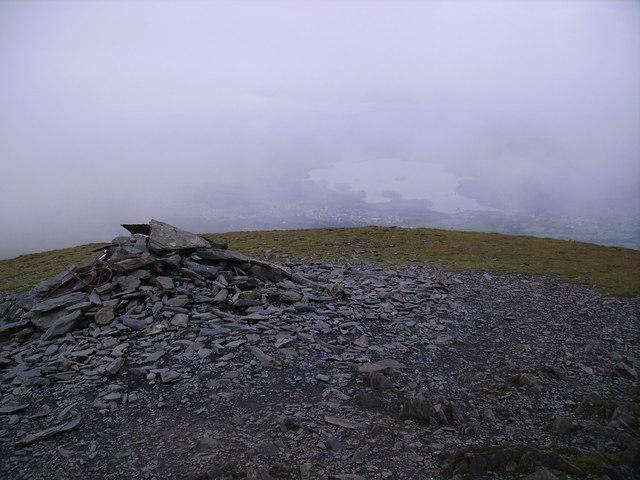 Summit Cairn, Skiddaw Little Man