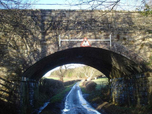 Railway bridge at Abcott