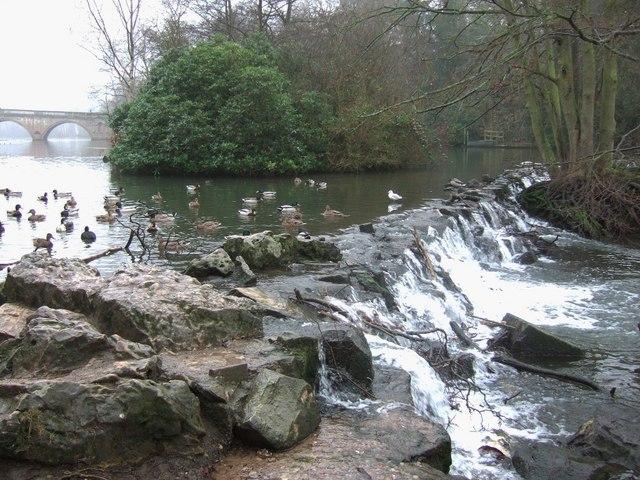 Weir, Clumber Park