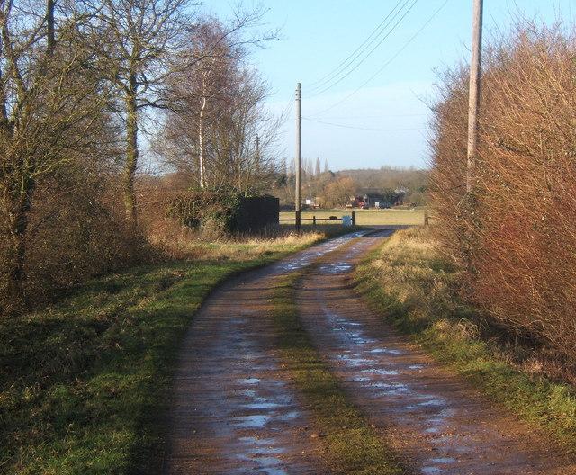 Overhall Farm track