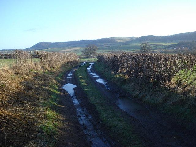 Track near Abcott