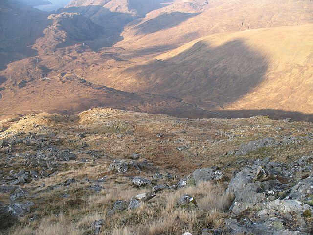 West ridge of Buidhe Bheinn