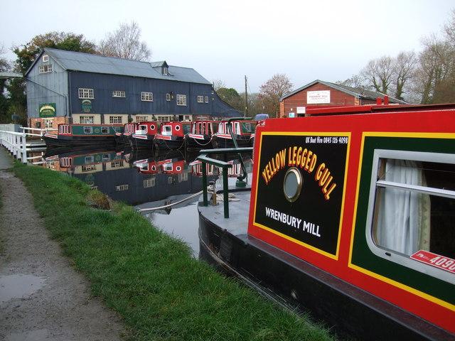 Canal basin at Wrenbury