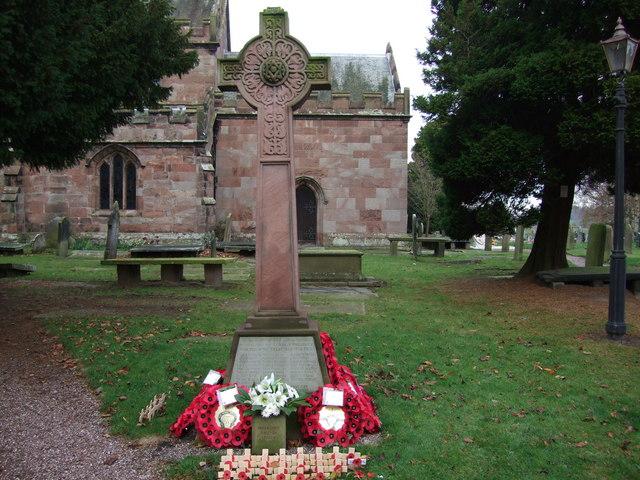 Wrenbury War Memorial