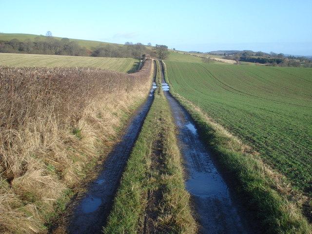 Farm track to Hope