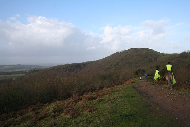 Ridge Path on Swinyard Hill