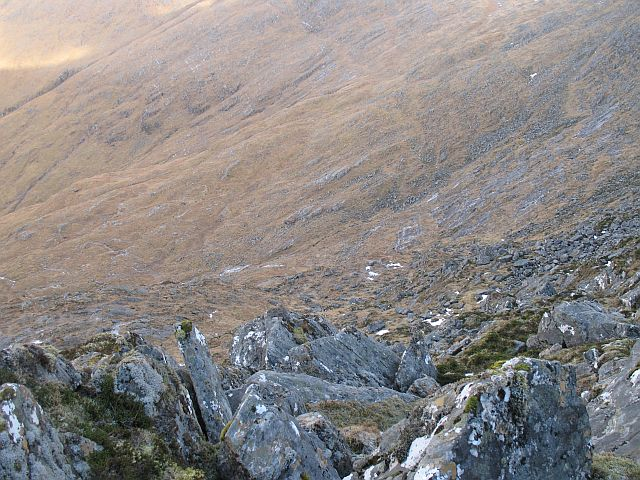 Headwall of Coire Reidh