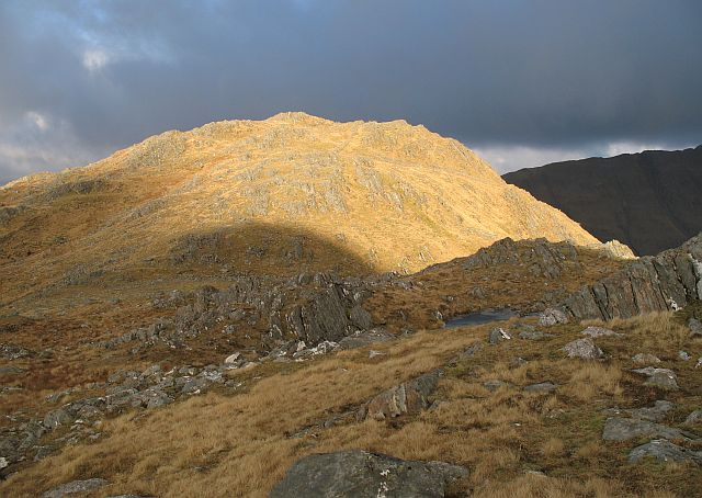 North ridge of Buidhe Bheinn