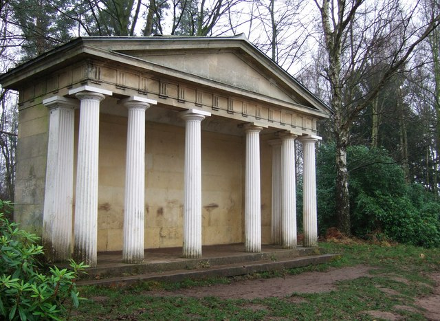 Greek temple, Clumber
