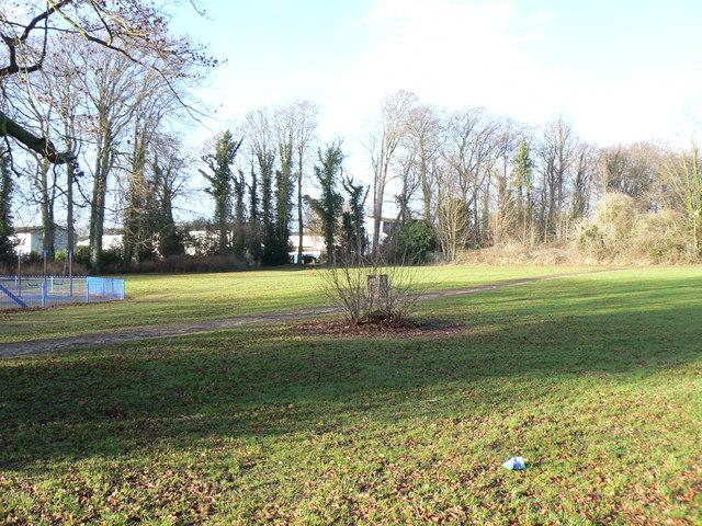 Open ground off Hillcrest Walk