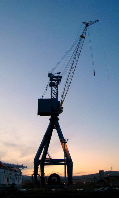Dock crane, Belfast [3]