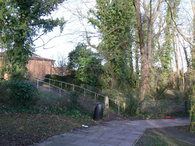 Fort Hill School entrance off Corfe Walk