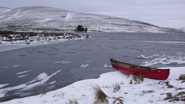 Frozen Loch Con