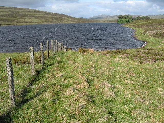 Fenceline and Loch Con