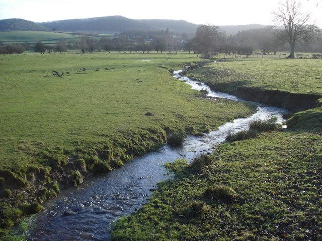 Stream near Abcott