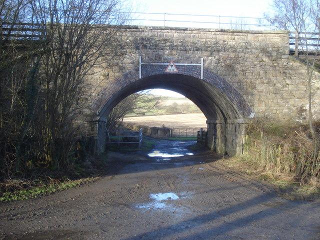 Railway bridge near Abcott