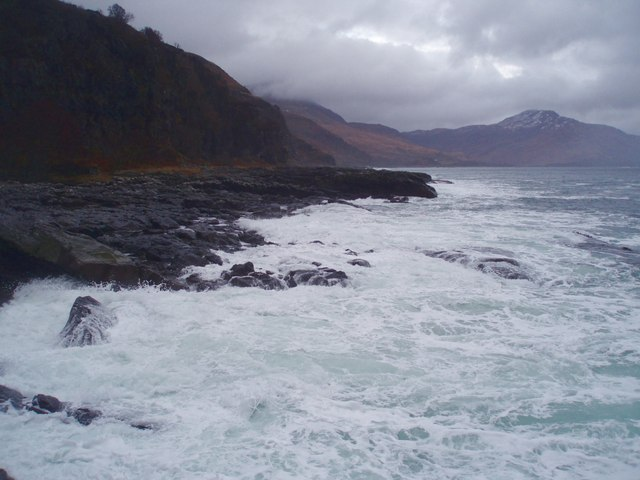 Ben Buie, Loch Buie and a Boiling Sea