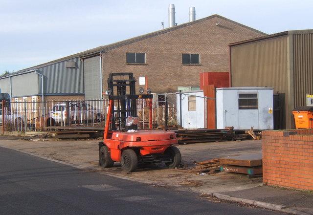 Lion Barn industrial estate, Needham Market