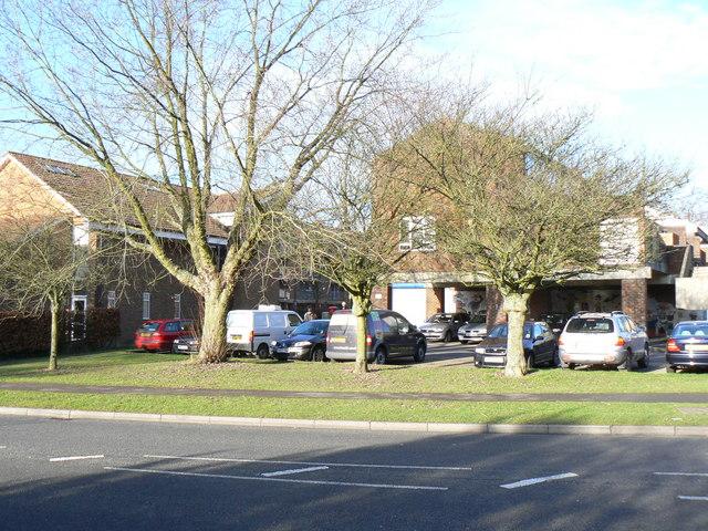 Winklebury Centre shop car park