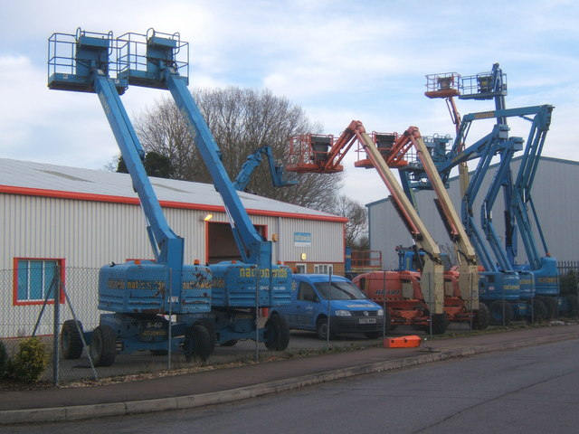 For hire (higher) from industrial estate, Needham Market