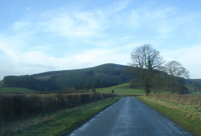 Road to Hopton Castle