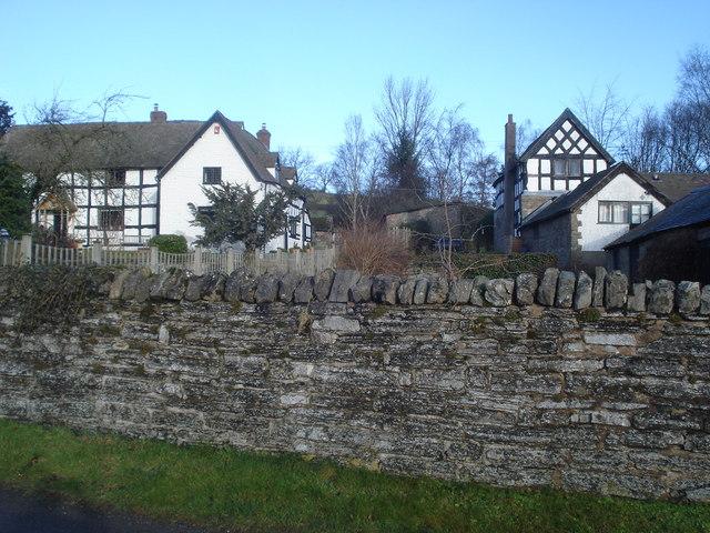Cottages at Hopton Castle
