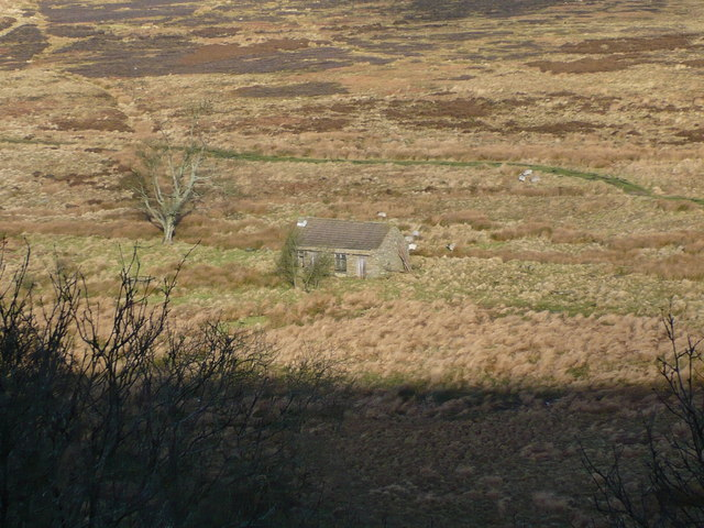 Nab Farm on Saltergate Moor