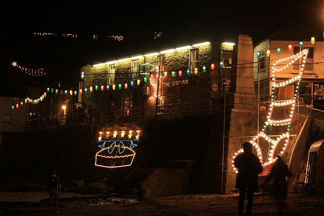 The Ship Inn on New Year's Eve