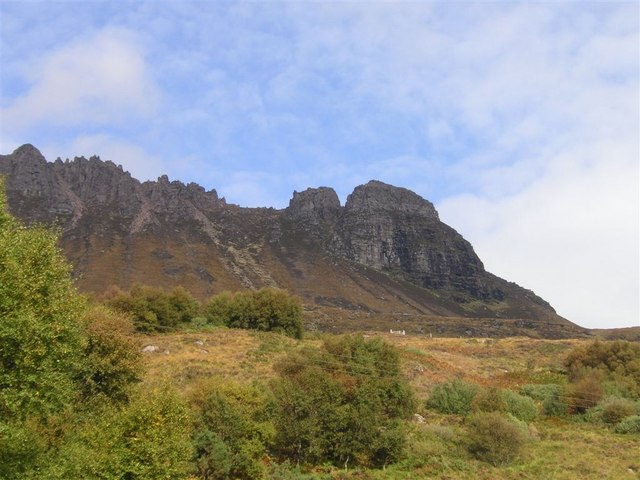 The approach to Stac Pollaidh