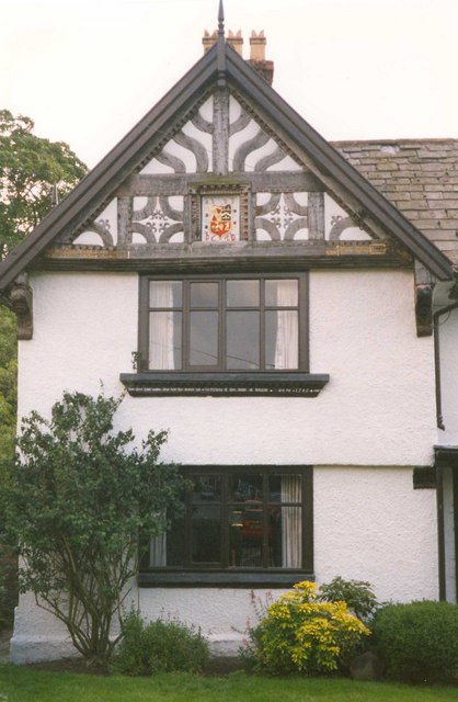 A gable of the Manor House, High Street, Tarporley